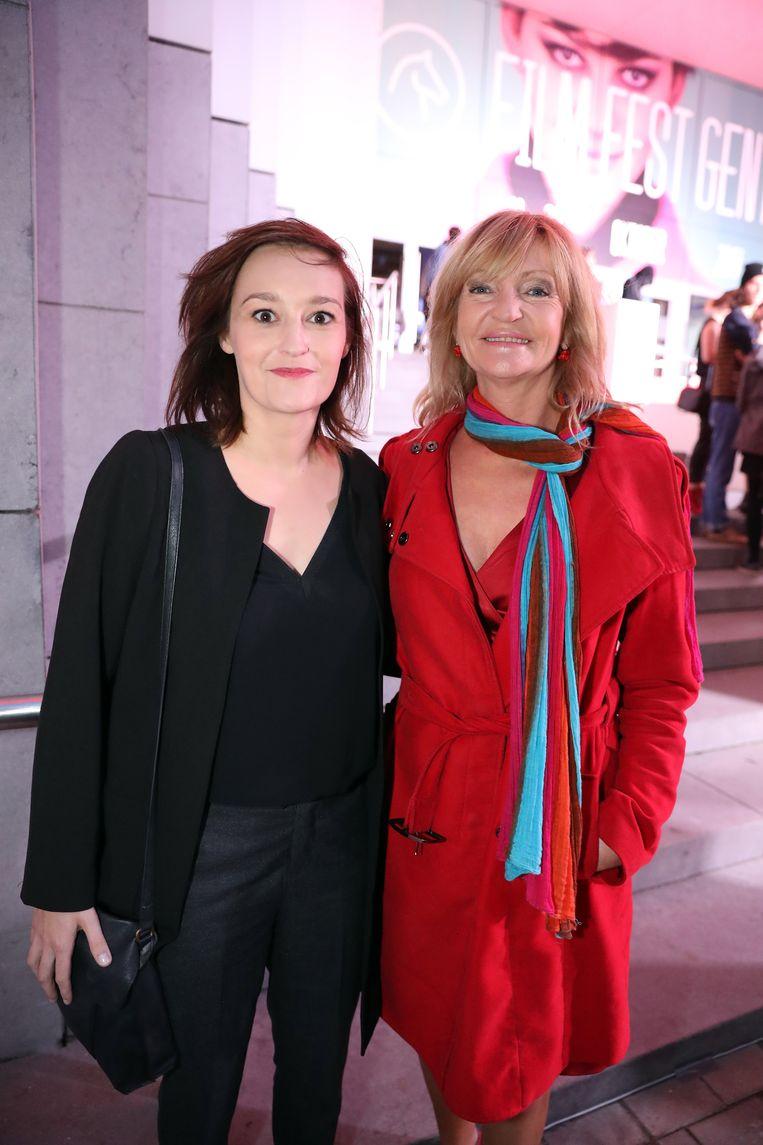 Tina Maerevoet (links) en Myriam Bronzwaar