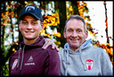 Mathieu van der Poel en vader Adrie van der Poel.