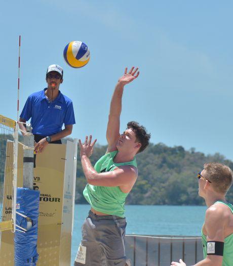 Zegereeks beachvolleyballer Dirk Boehlé uit Hulst eindigt in de finale