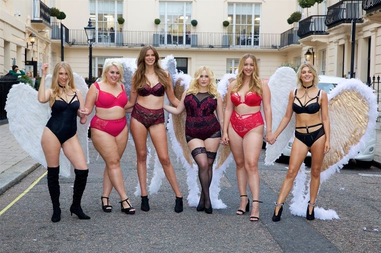 Kelly Knox, Felicity Hayward, Robyn Lawley, Hayley Hasselhoff, Joann Van Den Herik en Ashley James.