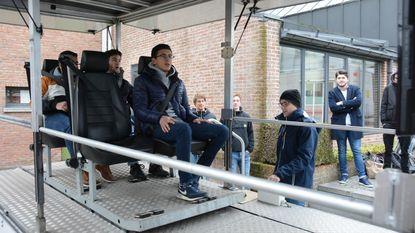 Leerlingen Sint-Joris ondergaan crashtest