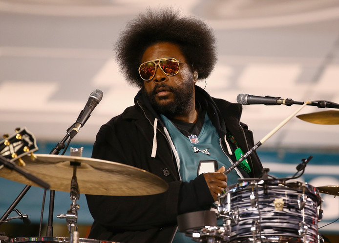 Drummer Questlove van The Roots.