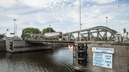 Werken aan Meulestedebrug in Gent (en dat is ook voor Evergem belangrijk)