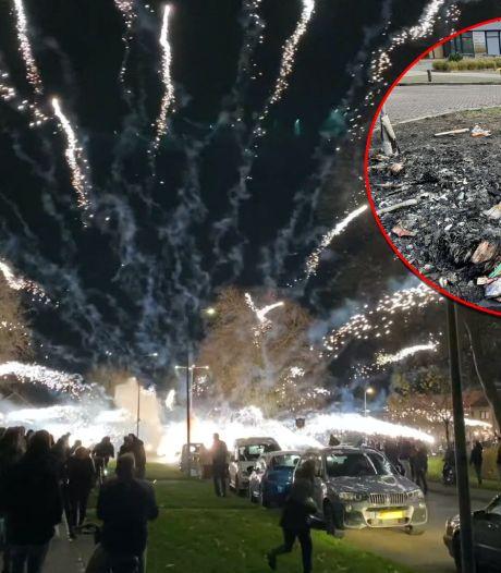 Brandweer op Urk baalt van rol oudere inwoners bij vuurwerkrellen