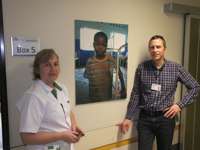 Deinze: Johan Vanlauwe en Sabine Van de Vyver, die zich al jaren inzetten voor het ziekenhuis in Congo.