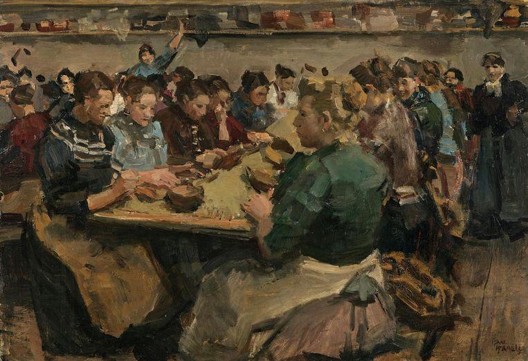 Isaac Israëls, Koffiepiksters, 1886. Beeld Museum Boijmans van Beuningen, Rotterdam