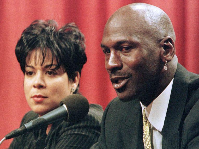 Michael Jordan en Juanita.