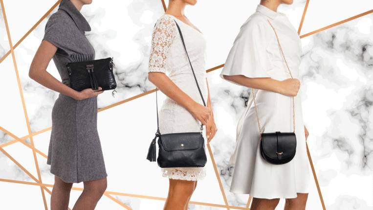 Waarom elke vrouw een zwarte handtas nodig heeft