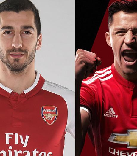 Arsenal en Manchester United maken ruil Sánchez-Mkhitaryan officieel