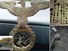 'Adelaar en gouden munten gevonden nabij nazitrein'