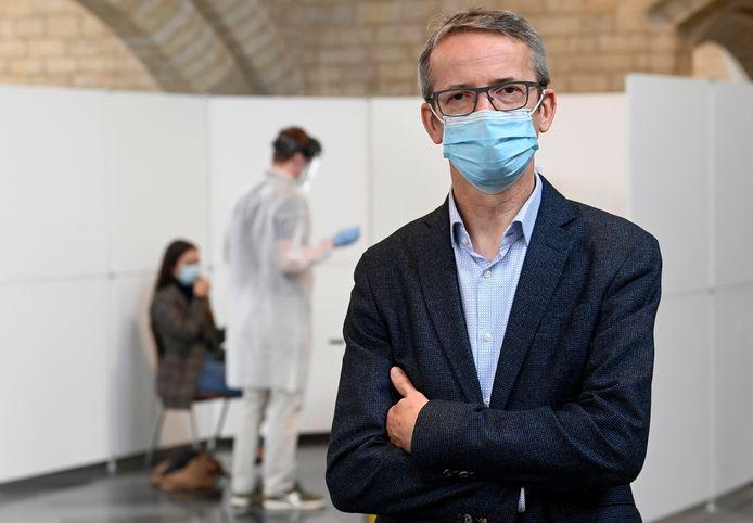 Luc Sels, rector van de KU Leuven