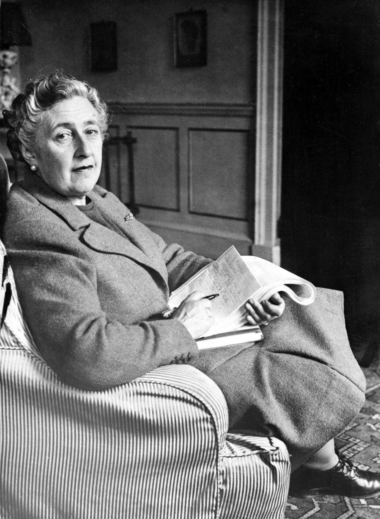 Agatha Christie in 1946. Beeld ANP