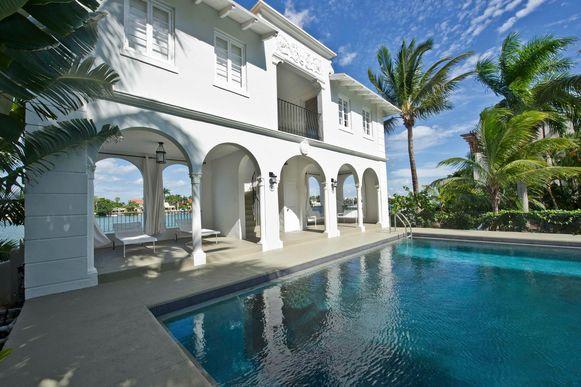 Dit huis op Palm Island in Miami Beach was ooit van de beruchte gangster Al Capone.