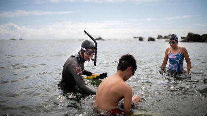 """""""Nooit meer"""", zei hij na vorig record. Nu zwemt hij van Japan naar Amerika"""