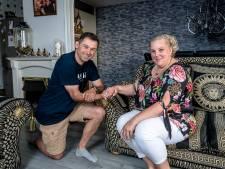 Liefste wens van ernstig zieke Gabriëlle gaat in vervulling: trouwen met haar Nordin