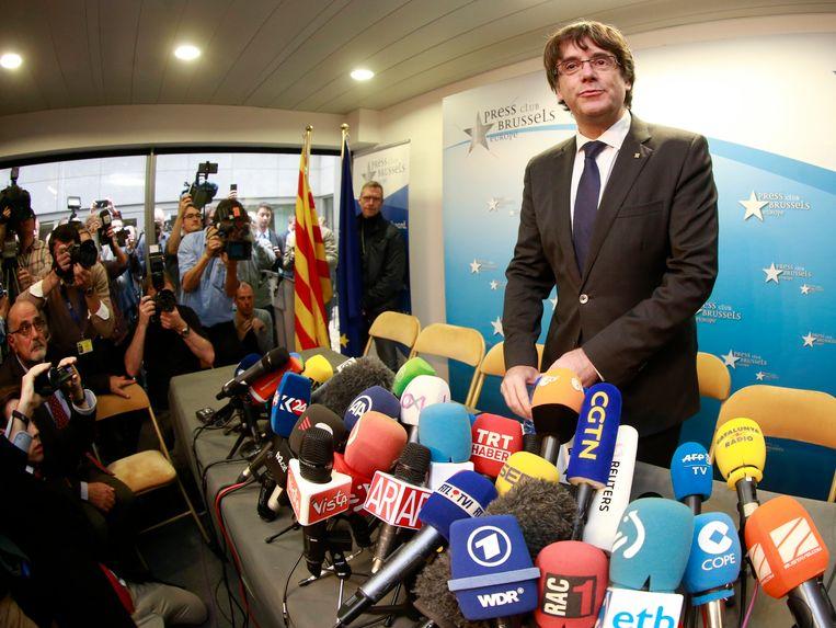 Carles Puigdemont bevindt zich nog altijd in ons land.