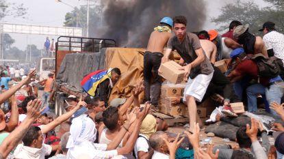 Liever oorlog dan eten: Venezuela stap dichter bij militaire escalatie door rellen over humanitaire hulp