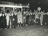 De allerlaatste rit van tramlijn 2 in Utrecht eindigde in een ravage