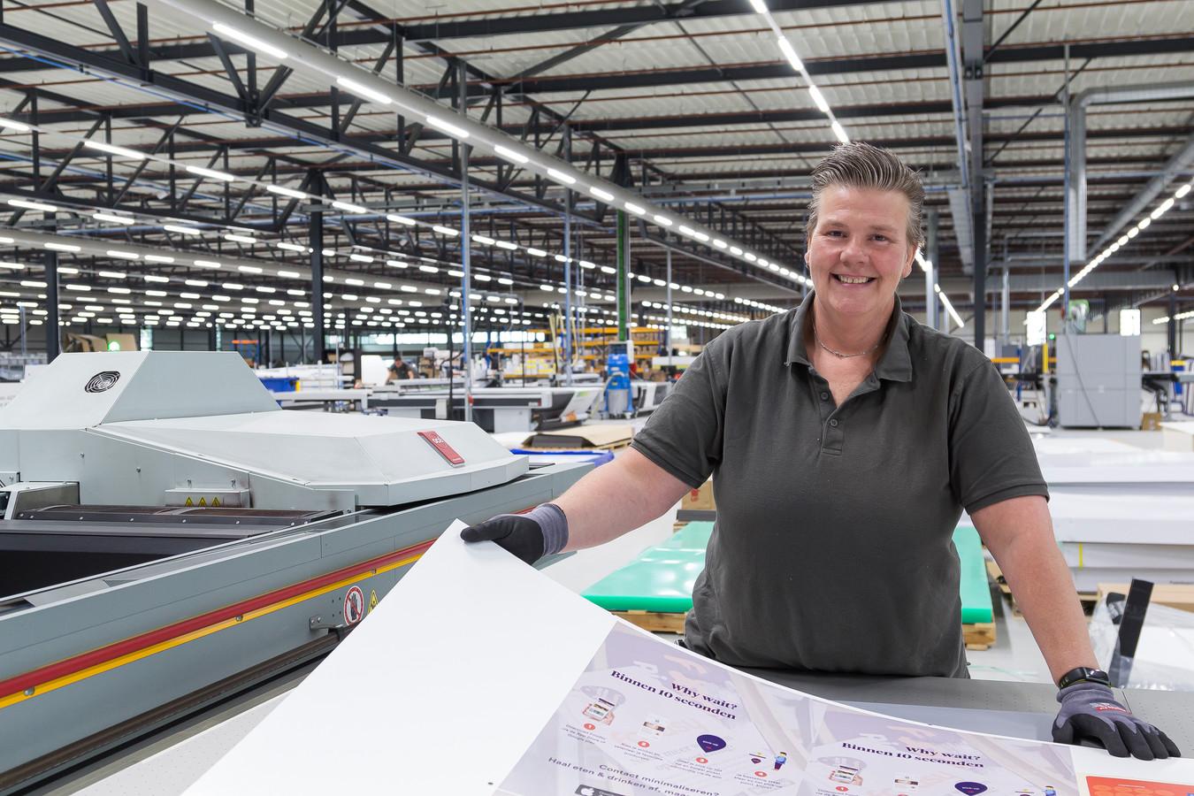 Joke de Swart (48) is online drukker