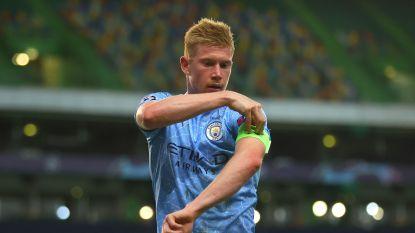 Verrassing: De Bruyne níet de nieuwe kapitein van Man City (maar dat laat 'm wellicht koud)