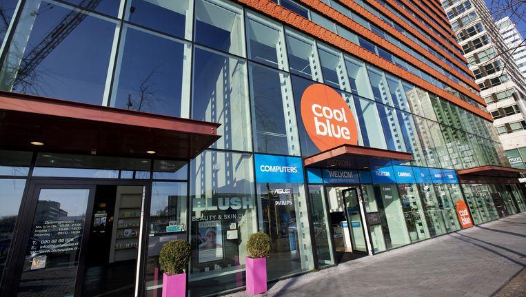 Een winkel van Coolblue aan de Zuidas in Amsterdam. Beeld anp