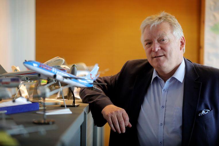 Marcel Buelens, topman van de luchthavens van Antwerpen en Oostende, is ongerust over de Brexit.