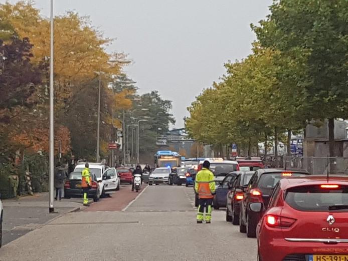 De actie gebeurde aan Oosterlaan. Deze straat ligt parallel aan station Zwolle.