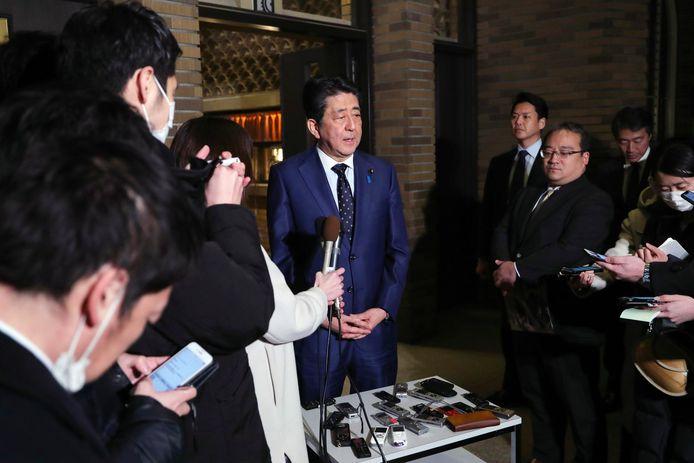 Shinzo Abe, chef du gouvernement japonais