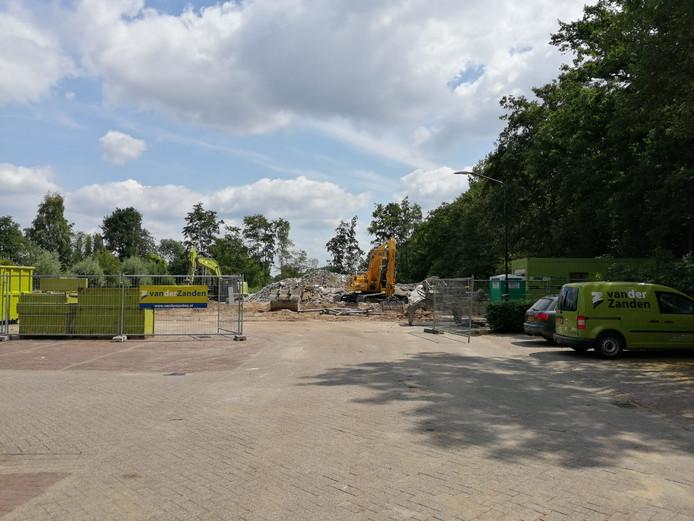 Sporthal Beekdal in Haaren is al grotendeels gesloopt