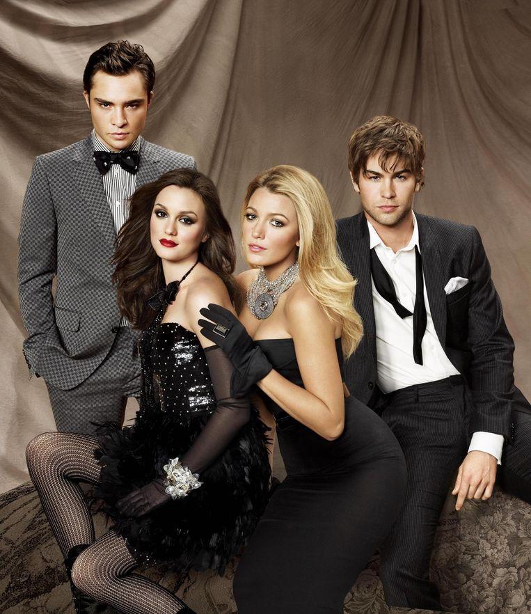 De originele cast van Gossip Girl.