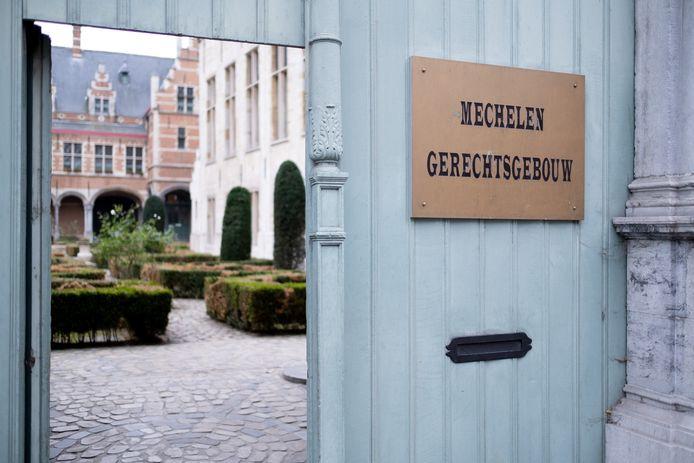 MECHELEN - De rechtbank van Mechelen.
