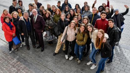 Leerlingen ORC ontvangen Europese vrienden
