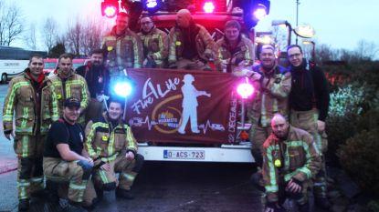 Honderden brandweermannen verzamelen voor Fire For Life