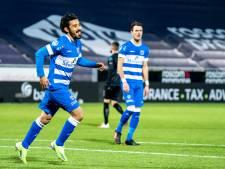 Opnieuw is Reza Ghoochannejhad het konijn uit de hoge hoed van PEC Zwolle