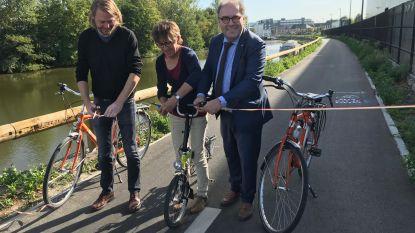"""Doorsteeklaan officieel geopend: """"Op minder dan 10 minuten met de fiets van station Aalst naar de bedrijvenzone Dender Noord"""""""