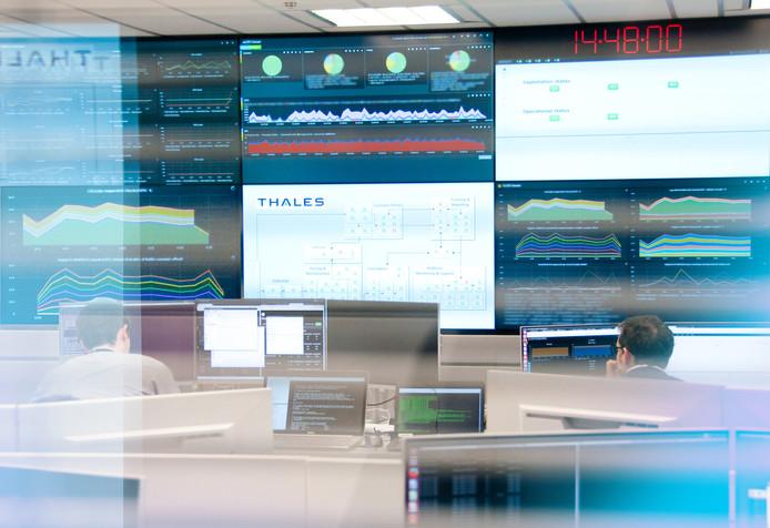Het Cyber Security Center van Thales in Huizen.