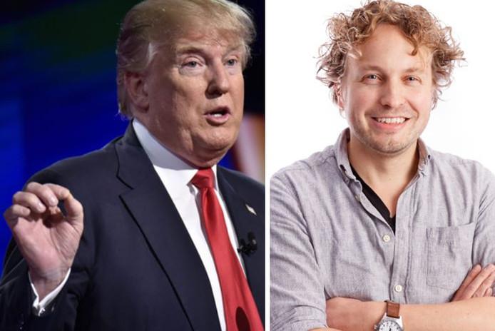 De lichaamshouding, de gebaartjes met de vingers, het accent: alles klopte aan de plaatselijke Donald Trump, vond columnist Niels Herijgens.