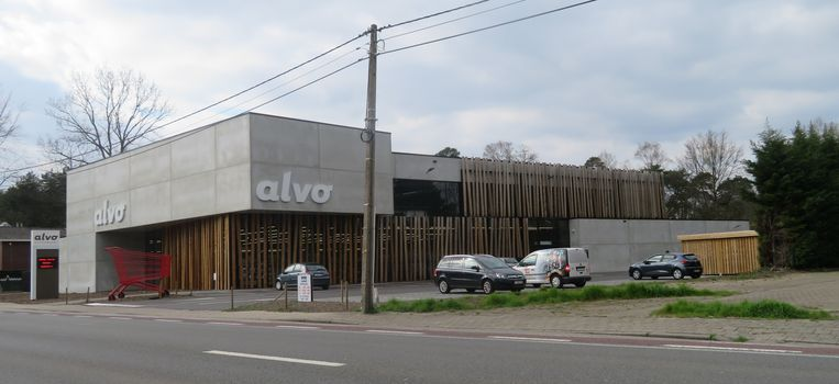 Supermarkt Alvo Driesen in Bouwel
