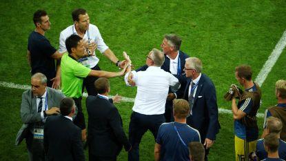 WK LIVE. Zweedse bondscoach woest na Duitse viering - Rode Duivels trainen vandaag niet - Servië haalt keihard uit naar de FIFA