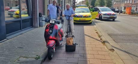 Scooterrijder gewond bij aanrijding met auto op Veldhovenring Tilburg