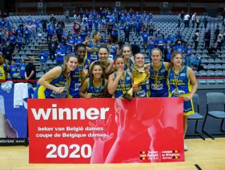 Castors Braine wint voor vijfde keer Beker van België vrouwenbasketbal