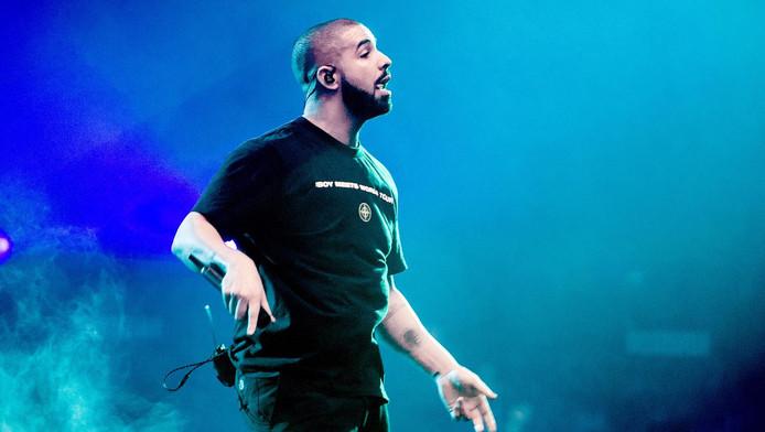 Drake tijdens een eerder concert in de Ziggo Dome.