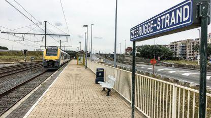 """De fauw: """"Minimaal om het uur een trein tussen Brugge en Zeebrugge"""""""