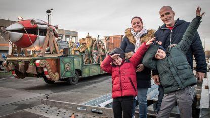 Autistische Milan (5) krijgt exclusieve blik achter de schermen van de 100ste Kerstparade