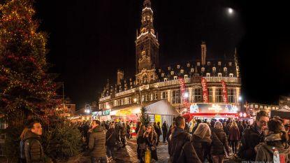 Programma Leuvense kerstmarkt is bekend: onder meer Belle Perez, Kate Ryan en Mama's Jasje op het podium