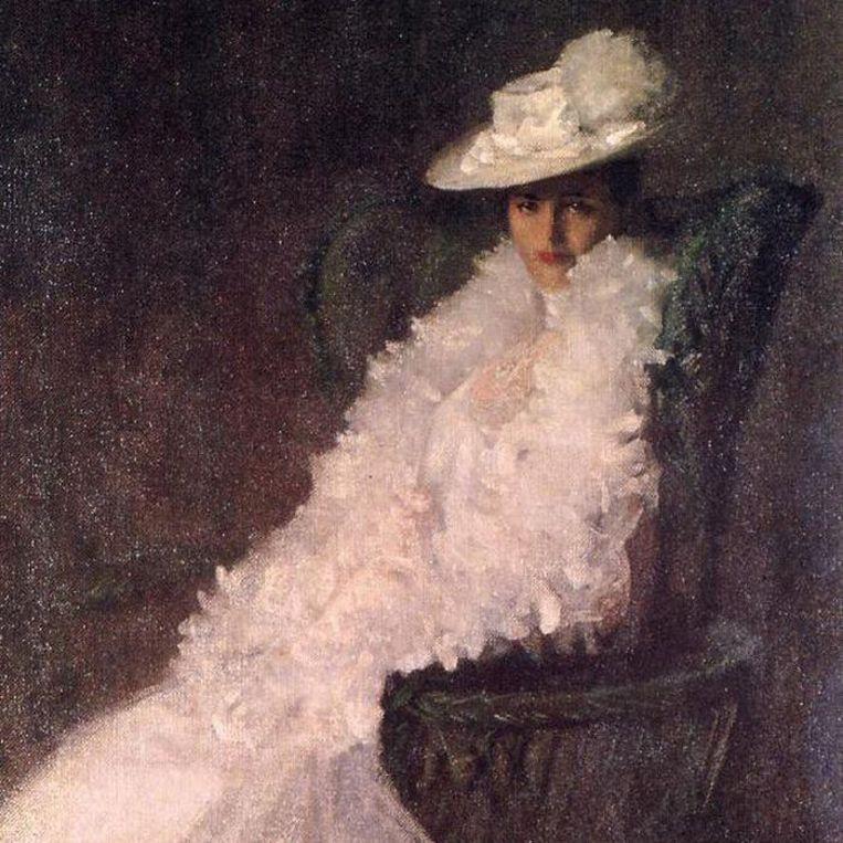 William Merritt Chase, My Daughter Dieudonnee, 1902. Beeld Parrish Art Museum Southampton