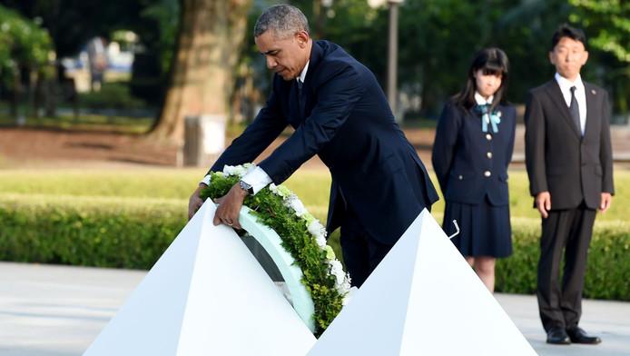 Obama Als Eerste Amerikaanse President In Hiroshima