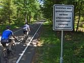 Einde aan duistere zaakjes langs fietspad: bossen gaan op slot