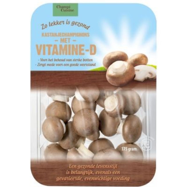 Ingestraalde Champignons Een Extra Bron Van Vitamine D De Volkskrant