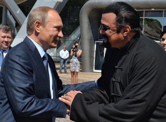 Seagal komt goed overeen met Poetin.